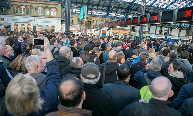 Furious commuters face chaos as Southern trains kicks off strike