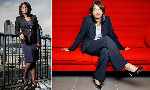 £2.5million-a-year executive quits after her children say they don't see her enough