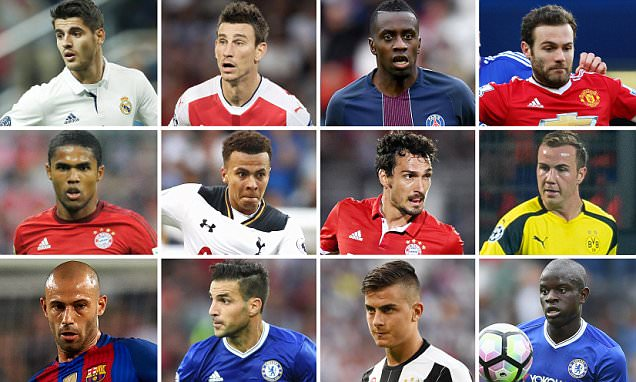 The best 100 footballers in the world: Nos 80-61