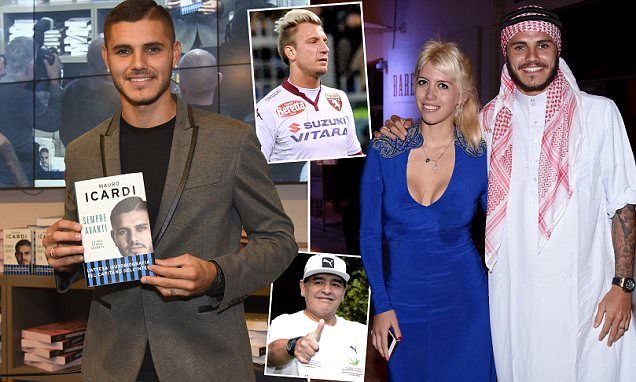 Mauro Icardi hits back at Diego Maradona for calling him a 'traitor' for relationship with