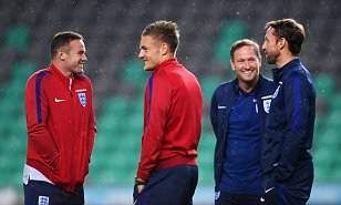 Wayne Rooney showed dignity in his darkest hour after being axed by England for the first