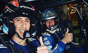 Angel di Maria taken for spin by rally legend Federico Villagra ahead of Argentina clash