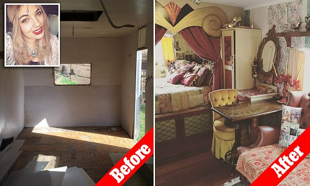 24-year-old Tasmania student buys caravan and transforms it for only $6,000