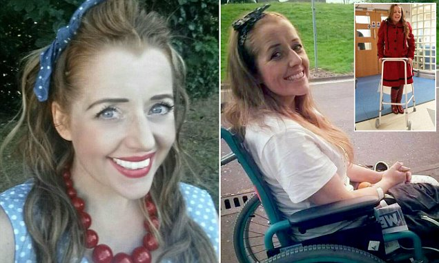 Mother-of-two is fighting for her life after contracting Lyme disease walking her dog 4