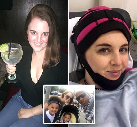 Mother loses part of her cervix to cancer despite going for regular smear tests