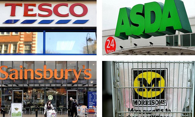 Big Four supermarkets lose £5 to £7 on every online order
