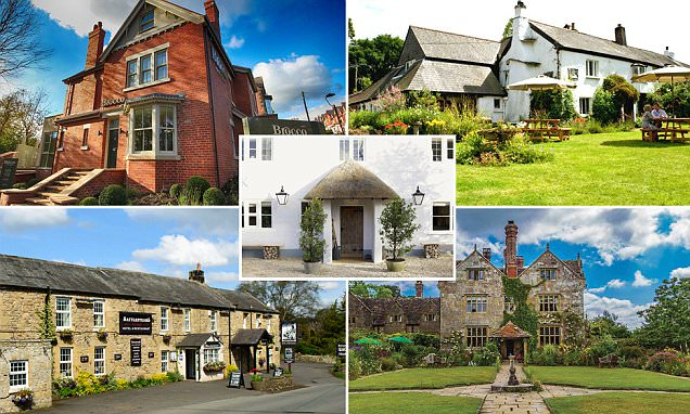The best of British! From a village pub in Devon to a former hostel in Yorkshire, a