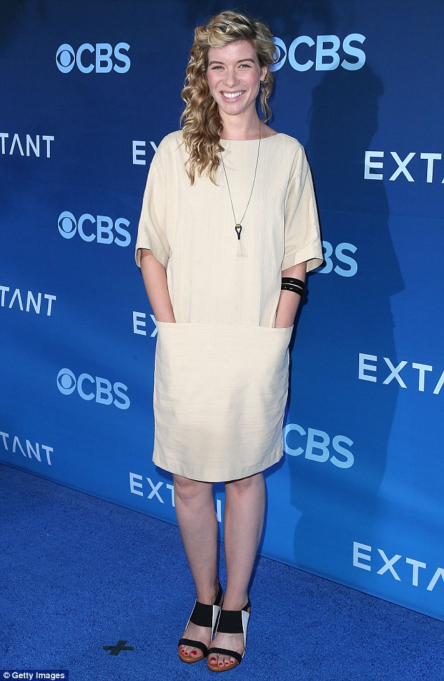 Returning role: The 30-year-old played a new intern - Dr. Leah Murphy - in seasons nine and 10; pictured in June 2014 at the premiere of Extant in LA