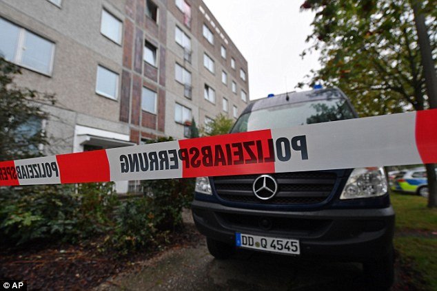 Jaber Albakr was detained in Leipzig in eastern Germany after three days on the run following a tip-off that he may have been looking for help from two associates in the city