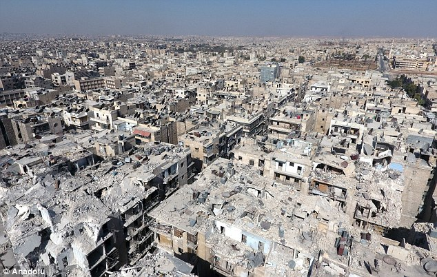 Hollande has also left open the question of whether he would receive the Russian leader, describing the scorched-earth campaign in Aleppo as a war crime