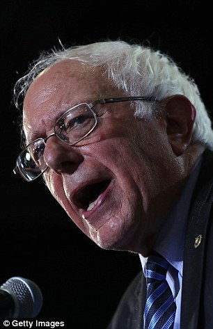 Hillary Clinton had her campaign ready 'hits' against Sen. Bernie Sanders (pictured) between the first and second Democratic debate last year