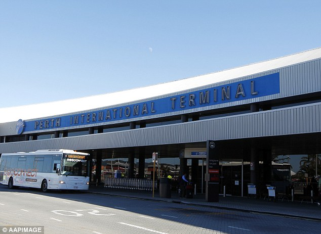 Mr Singh worked as a baggage handler for Aerocare at Perth Airport (pictured) but had his contract terminated in October 2015 after a colleague saw the posts and alerted management