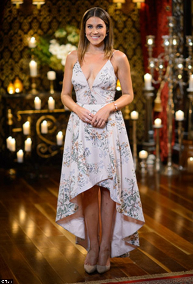 Keeping her head held high:Bachelorette Georgia Love has explained she refuses to read negative comments made about her on social media