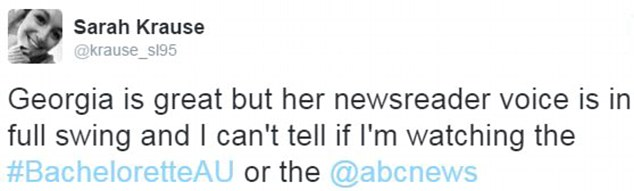 Which is it? Twitter users said she continued to act like a journalist on the show, in the way she speaks and the way she interacts with the contestants