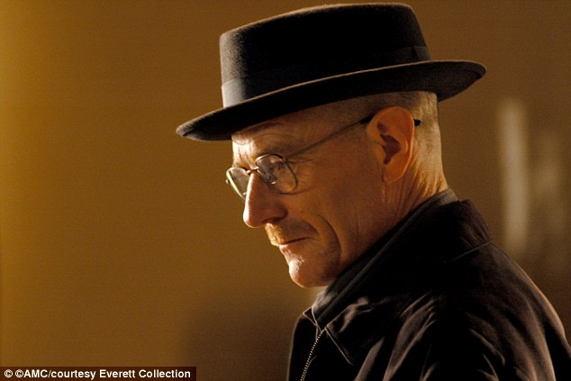As the series progressed, White turned into his ruthless  alter ego, Heisenberg