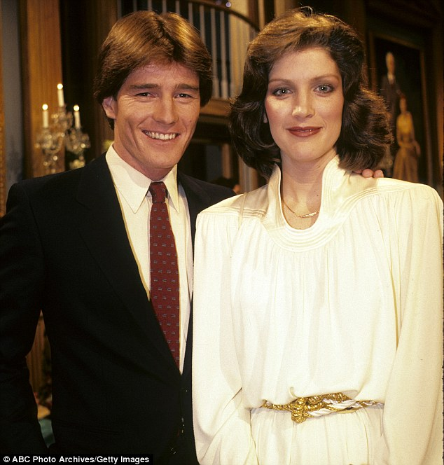 When Cranston landed a role in the daytime soap, Loving (pictured with costar Patricia Kalember) in 1983, he moved to New York to try to escape his ex-girlfriend, Ava