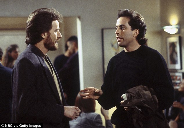 Before his role as Walter White on Breaking Bad, Cranston appeared in several other shows, including a guest appearance on Seinfeld in 1994 (pictured above)