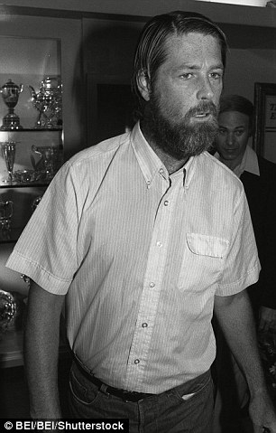 Brian Wilson pictured in October 1987