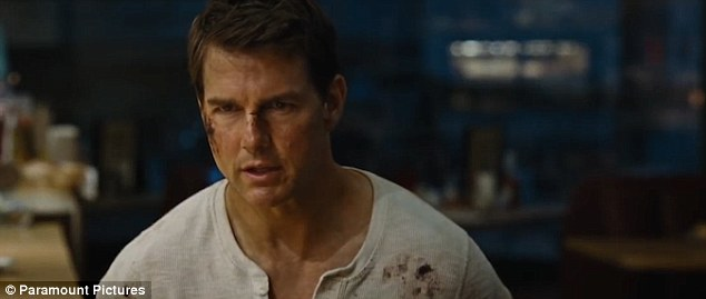 Menacing:It begins with a stern forewarning from its protagonist, and as always he does not fail to deliver in the action packed trailer for forthcoming film Jack Reacher: Never Go Back