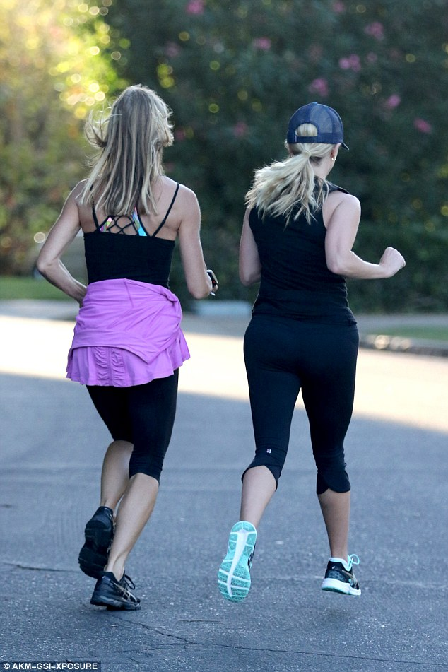 Spotted: She was spotted by a personal trainer on the morning workout