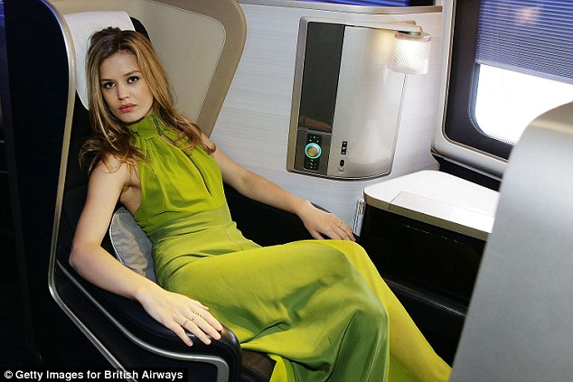 Glamorous Georgia May, who is a British Airways ambassador, is keen to visit every single continent in the future