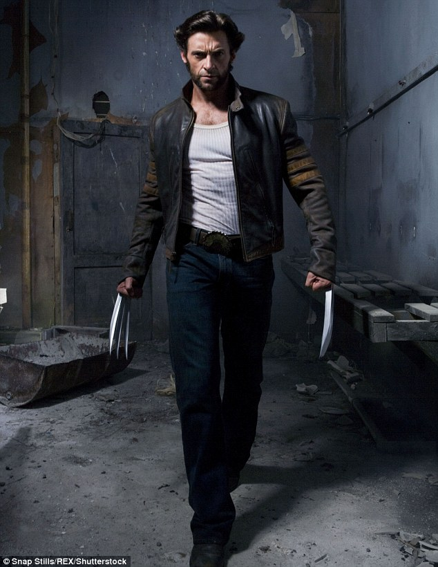 His last time: The hunky star announced last year that Logan would be the final time he flexes Wolverine's adamantine claws