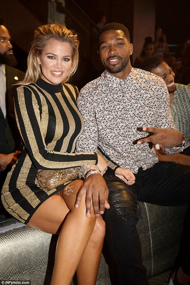 New model: The NBA star is now dating Khloe Kardadshian; the two went public with a Snapchat video in June