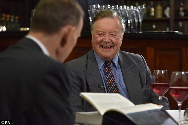 When BBC presenter Andrew Marr interviewed rosy-cheeked Tory veteran Ken Clarke on his Sunday breakfast show they clutched glasses of red wine