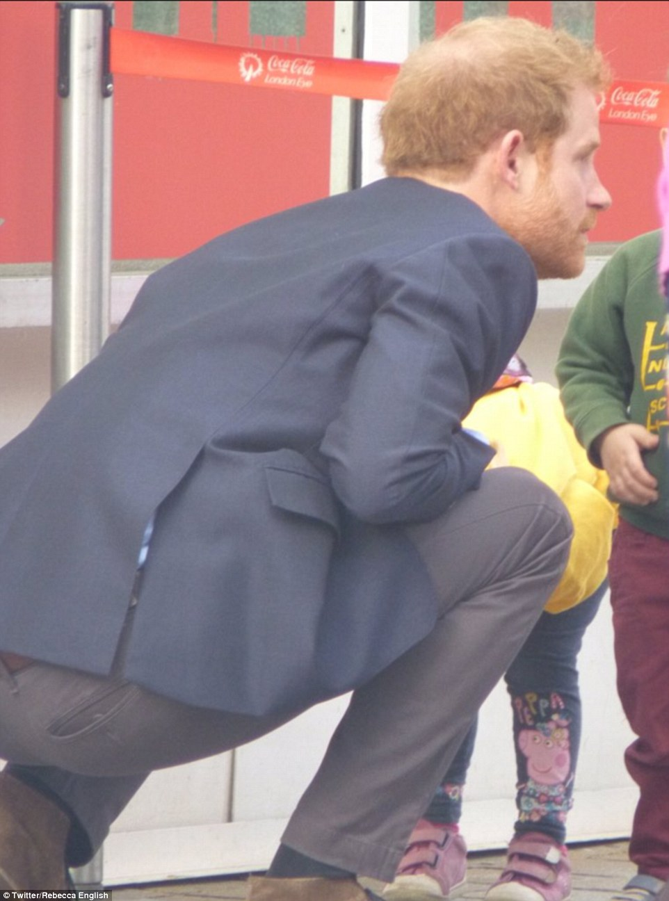 Youngsters from Abacus Nursery were eager to tell Prince Harry they had seen crocodiles on their visit to The Aquarium