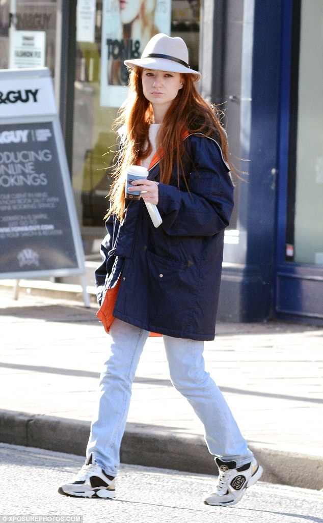 Broody? Kimberley says that her bandmates Nicola Roberts (pictured) and Cheryl get broody around two-year-old Bobby