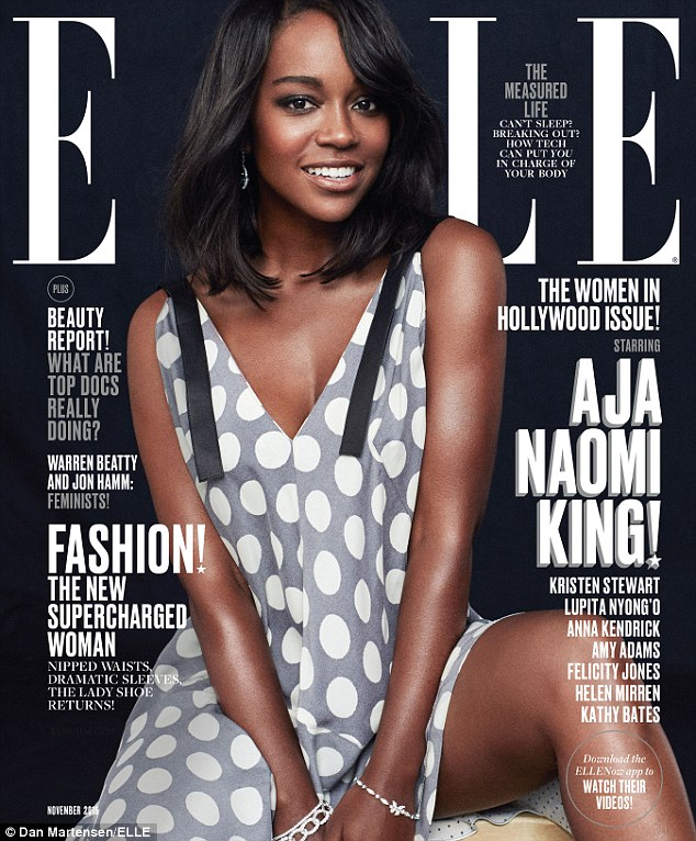 'You just begin, you know?': Aja Naomi King revealed: 'I want to write, I want to direct, I want to produce'