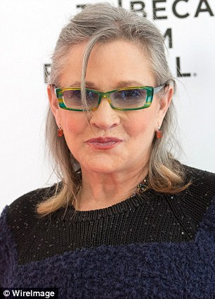 'Star Wars' actress Carrie Fisher wrote on Twitter that she thinks Republican presidential nominee Donald Trump was on cocaine during the second debate against Hillary Clinton