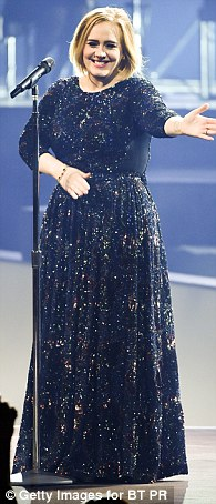 Among those up for Artist Of The Year is Adele