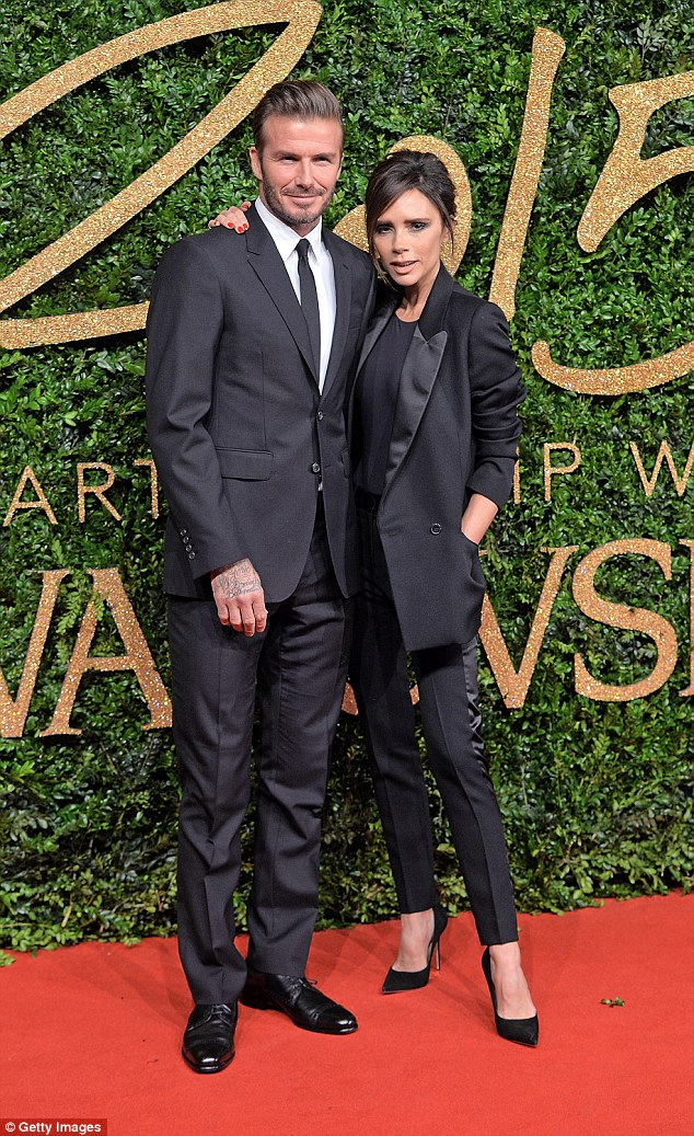 Supportive: Victoria Beckham admits it difficult balancing life as a wife, mother and businesswoman but credits her 'incredibly supportive' husband David Beckham for helping her juggle it all