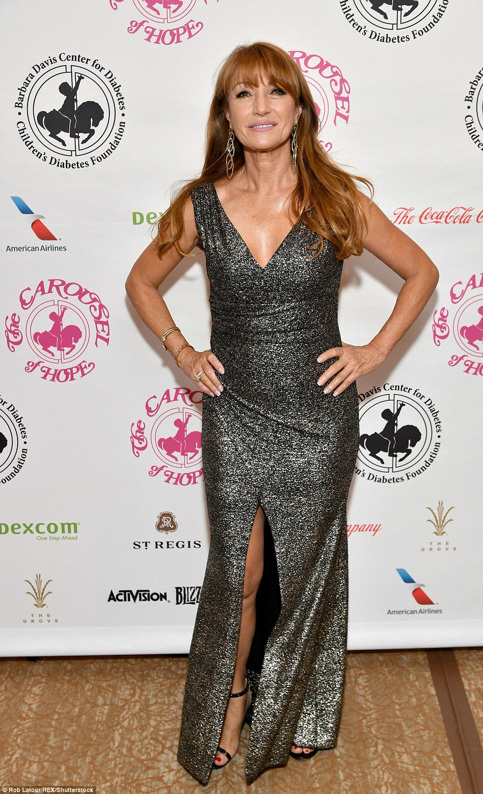 A dazzling host of A-List beauties of a certain vintage turned out for a Hollywood charity gala on Saturday night, including 65-year-old Bond Girl, Jane Seymour, so which golden girl is ageing best?