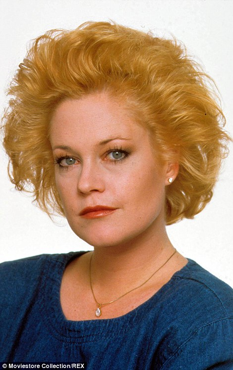Melanie Griffith during Working Girl in 1988