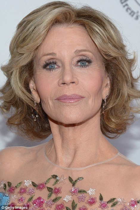Hanoi Jane, political activist and star of Barbarella, who famously advised us to feel the burn in her 'Workout' videos