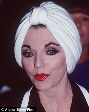 Joan was pictured wearing one of the exact headscarves in the 1980s