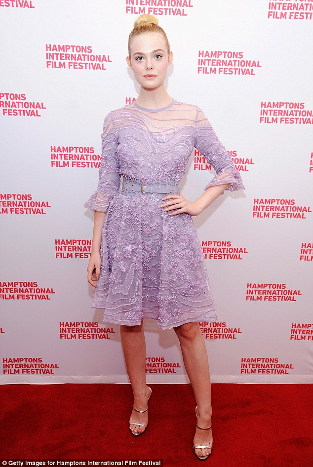 No shrinking violet!Elle Fanning once more was showing off her sartorial expertise as she attended a screening of her new film, 20th Century Women, at the Hamptons International Film Festival on Sunday