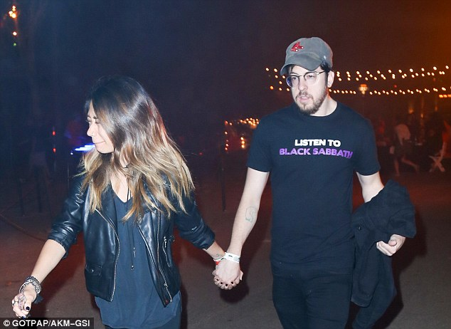Famous faces: Christopher Mintz-Plasse, who played McLovin in Superbad, was among those spotted at The Haunted Hayride