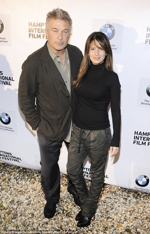 Back again: The couple also attended a festival event Friday, alongside celebs such as Holly Hunter and Edward Norton