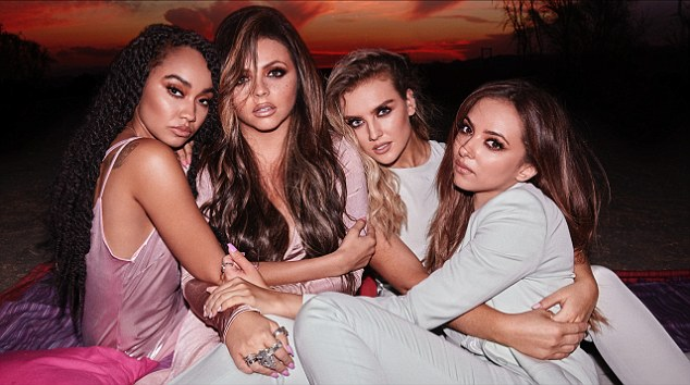 Owning it: The girlband are due to release the single as the first from their new album