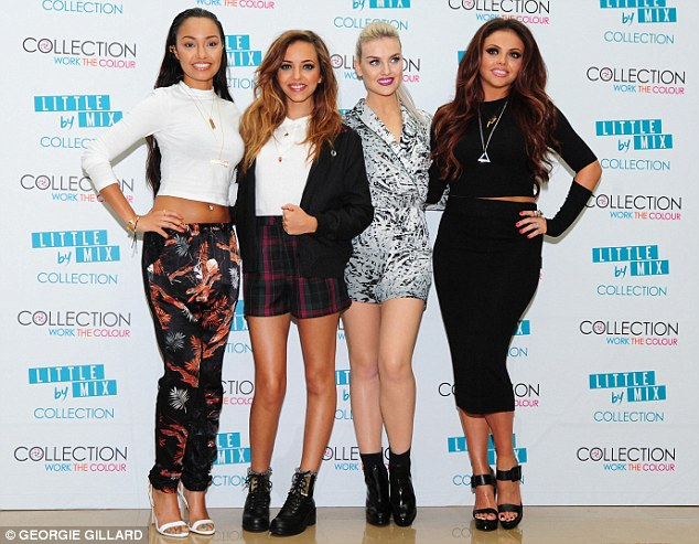 Ready to rock: The girls are set to perform the track on The X Factor next week