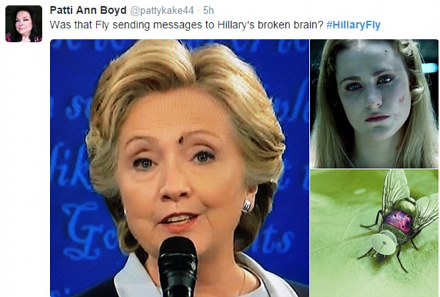 Conservative and Trump supporter designed this meme to mock Mrs Clinton