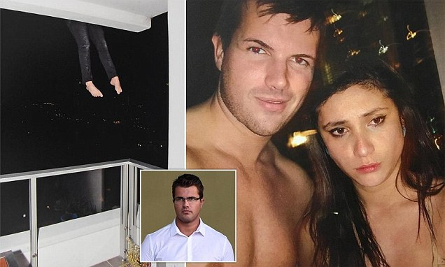 Warriena Wright and Gable Tostee appear in shirtless selfies the night she died