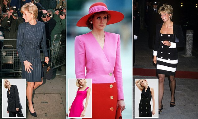 Asos launches Princess Diana-inspired collection