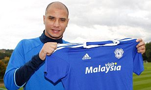Marouane Chamakh joins Cardiff City as Neil Warnock completes third free transfer in 24