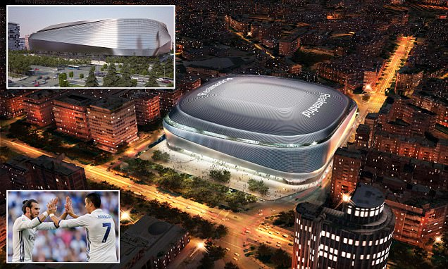 Real Madrid reveal plans to redevelop the Santiago Bernabeu