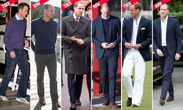 Prince William showcases his new look thanks to stylist Natasha Archer