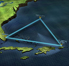 Is there a pyramid below the Bermuda Triangle?